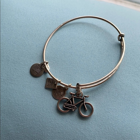 Alex and Ani Jewelry - Alex and Ani Bicycle Bracelet in Silver